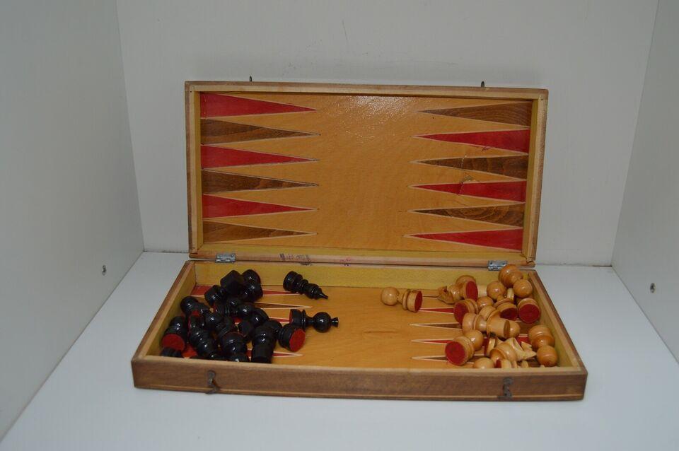 Retro skakspil, Skak, brætspil