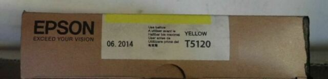 Epson T5120  Tinte T512 yellow Color Proofer 10000 CF Stylus Pro 10000 CF  2014