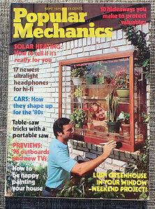 Popular-Mechanics-September-1975-Solar-Heating-039-80s-Cars-039-76-Outboards-New-TVs