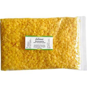 Dalimar Bienenwachs Chips Pastillen  100 % rein für Naturkosmetik 250 g