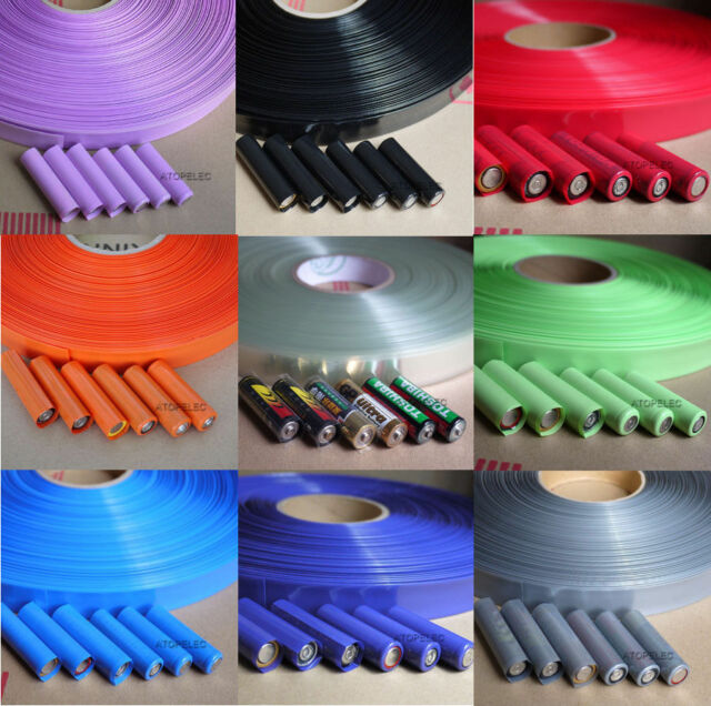17MM~103MM PVC Heat Shrink Tubing Tube Wrap Lipo Li-ion Ni-MH RC Battery Pack