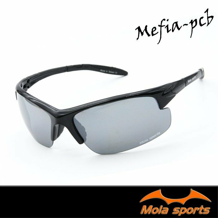Cycling Sunglasses Men Women Grey Sports Outdoor  Driving Grey Lens UV400 MOLA  export outlet
