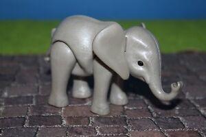 Playmobil Animals Elephants Baby New Version Zoo Animal Park Ebay