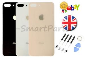 VETRO-posteriore-posteriore-alloggiamento-della-batteria-cover-di-ricambio-per-Apple-iPhone-8-Plus