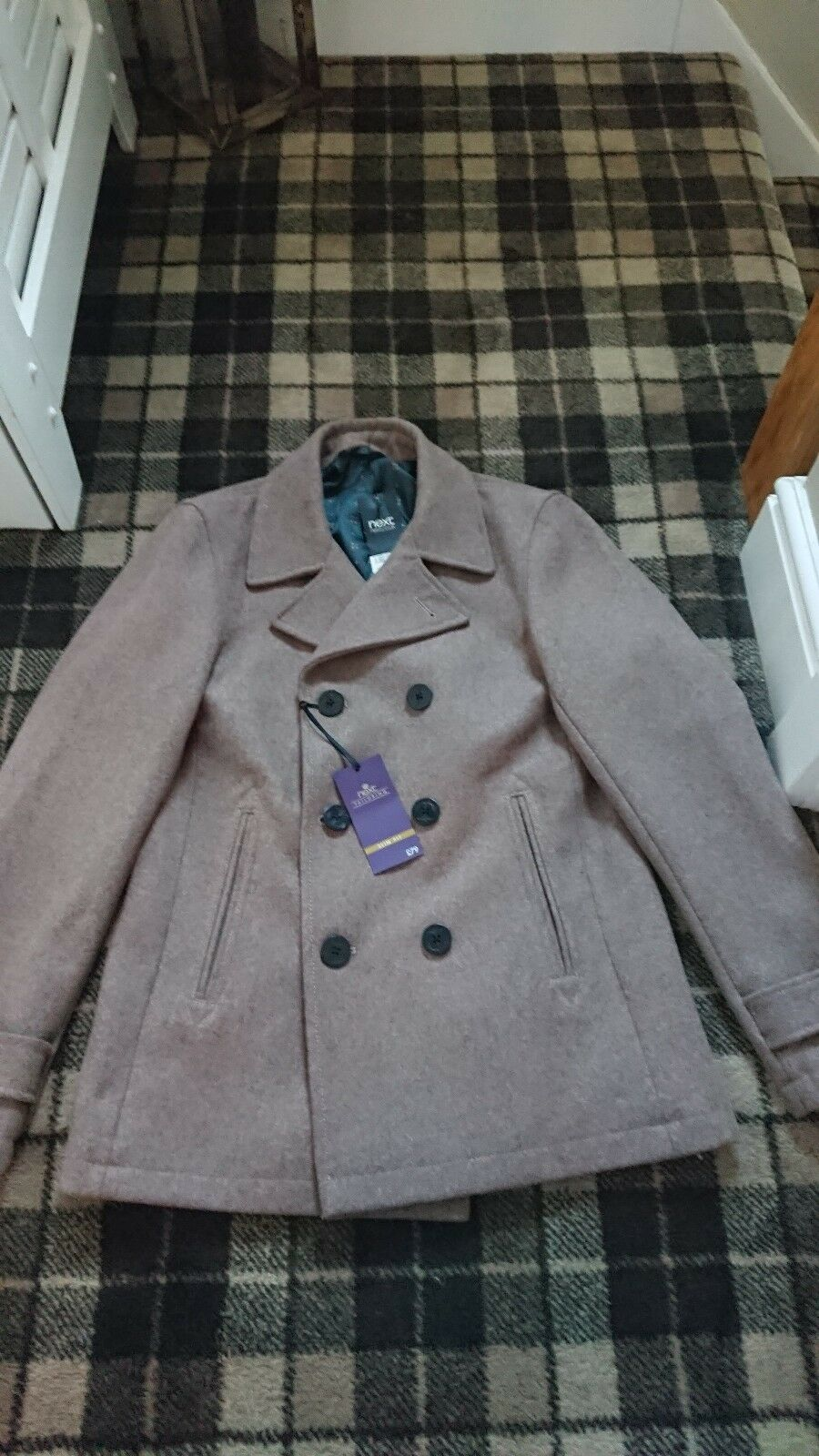 Bnwt Mens Coat Next Size Medium - Christmas Gift