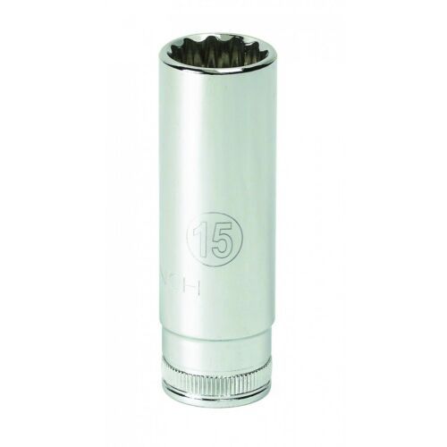 "Gearwrench KD 80144 9mm 1//4/"" Drive 6 Point Deep Metric Socket"