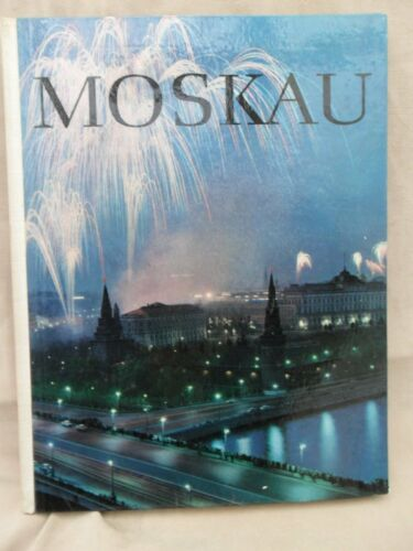 "4321 EAST GERMANDDRGDR SOVIET UNION COLD WAR "" MOSCOW "" guide book cir 1964"