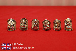 Adjustable-Handmade-Carved-Amulet-ring-Nepal-BHAIRAB-GANESHA-BUDDHA-TARA