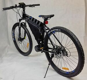 Image Is Loading 36v500w Mid Drive Electric Mountain Bike Ebike Bicycle