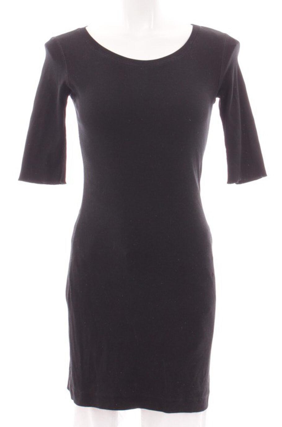Sommerkleid schwarz S Marc Cain Sports Jerseykleid Strickkleid Kleid LangeHemd