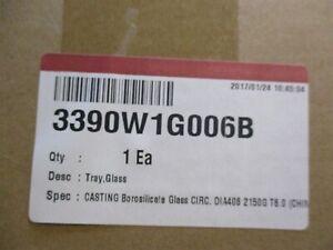 Genuine Oem 3390w1g006b Lg Microwave 16 Inch Glass