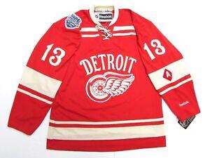 PAVEL DATSYUK DETROIT RED WINGS 2014 NHL WINTER CLASSIC REEBOK ... 09a4f666b