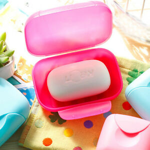 Bathroom-Shower-Soap-Dish-Box-Buckle-Case-Holder-Container-Travel-Outdoor-Hiking