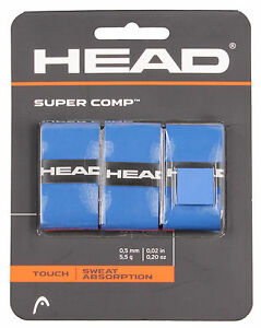 HEAD-Super-Comp-Overgrips-Grip-Tape-Tennis-Badminton-Squash-Rackets-OverGrip