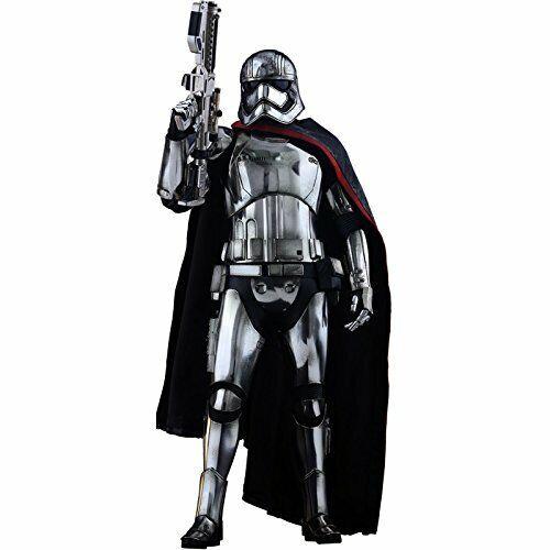 Hot Toys Star Wars VII Figurine Movie Masterpiece 1 6 Captain Phasma - 30 cm