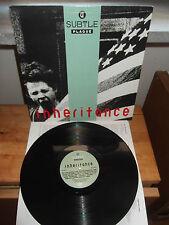 """A Subtle Plague """"Inheritance"""" LP HEYDAY USA 1990 - INNER"""