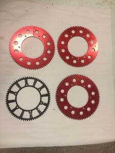 #35 Chain Sprocket Go Kart Racing 58-61 Tooth Mini Bike Gear Hub Split Sprockets