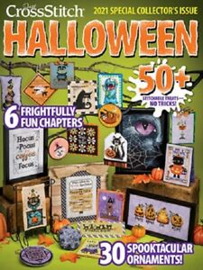 Just Cross Stitch 2021 Halloween Special Collector's Issue New
