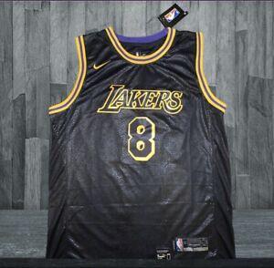 Black Gold Kobe Bryant #8 #24 Los Angeles Lakers Basketball Jersey Stitched