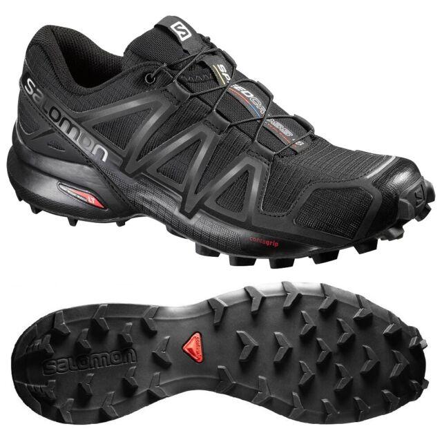 Salomon Speedcross 4 Damen Outdoorschuh Gummisohle schwarz 8 5
