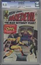 DAREDEVIL 3 - CGC 9.0 - First Appearance Of The Owl - Marvel Comics