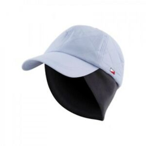 bd0e9dea LADIES WINTER GOLF CAP - PALE BLUE WITH WARM GREY FLEECE EAR ...