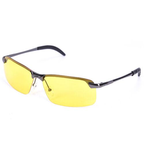 Polarisierte Sonnenbrille HD Driving Pilot Glasses Übergroße  Nachtsichtbrille~I