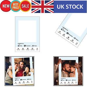 Facebook-medias-sociaux-Selfie-Cadre-Photo-Booth-Props-Joyeux-Anniversaire-Papier-Fete