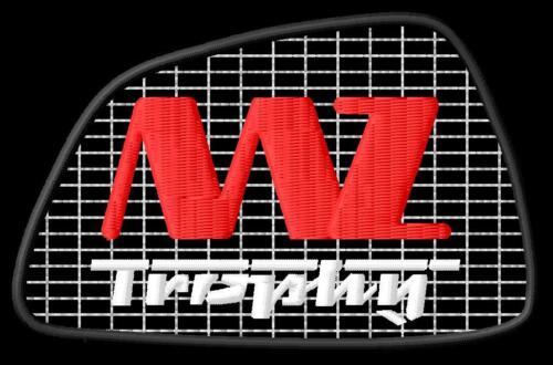 MZ Trophy Aufnäher iron-on patch