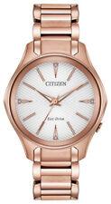 Citizen Eco-drive Ladies Modena Silver Dial Dress Watch Em0593-56a