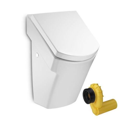 Urinal Zulauf v hinten Absaugend Ablauf VIEGA Absenkautomatik-Deckel ROCA HALL