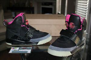 Nike Air Yeezy 1 Blink Solar Red Black