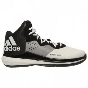 C75561 Men 's Adidas Original Intimidate Basketball Mid Cut White/Grey/Black