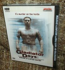 GLADIATOR DAYS: ANATOMY OF A PRISON MURDER, NEW AND SEALED, RARE, REGION 1