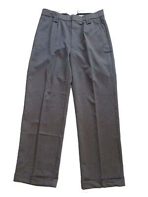 Details about Mens 1940s Swing Vintage Style Black Fishtail Look Trousers With Turn Up Hems