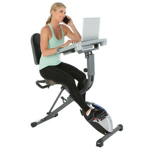 Exerpeutic-WORKFIT-1000-Klappbarer-Heimtrainer-Liege-Ergometer-Sitz-Ergometer