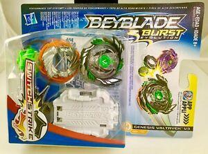 Hasbro Beyblade Burst Evolution SwitchStrike Starter Pack Genesis Valtryek V3