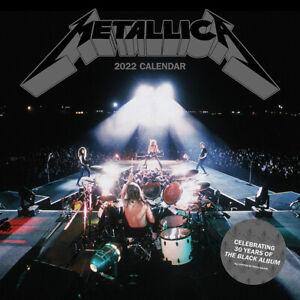 Metallica Calendar 2022 Official 30X30 cm *FAST UK DISPATCH*