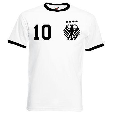 SchöN Herren Wm Weltmeister Deutschland Fan T-shirt Trikot Mit Wunschzahl & Name S-xxl Supplement Die Vitalenergie Und NäHren Yin