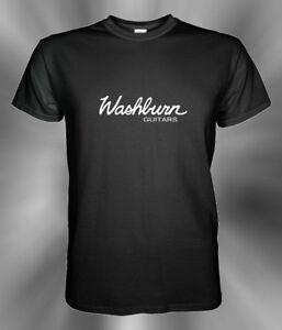 Washburn-Guitars-Logo-T-Shirt-S-3XL
