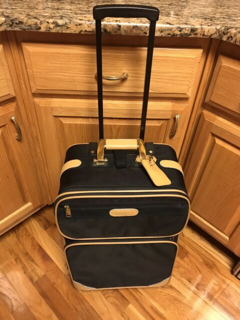 London Fog Luggage Chatham 360 Collection 24 Inch Expandable Upright Grey 1495 For Sale Online Ebay