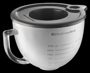 Beautiful Image Is Loading KitchenAid Frosted Glass Bowl K5GBF For 5 Qt