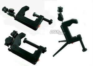 Mini Portable Table Desk Clamp Tripod Mount for Camera Camcorder DC DSLR MAX 5KG