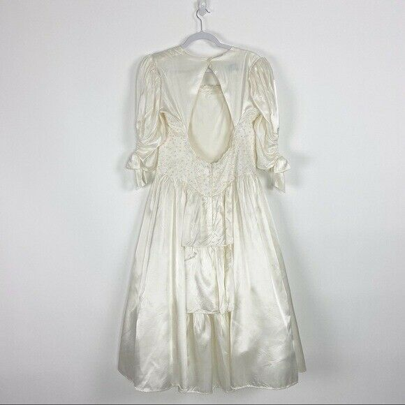 GUNNE SAX Jessica McClintock Size M Vintage White… - image 9