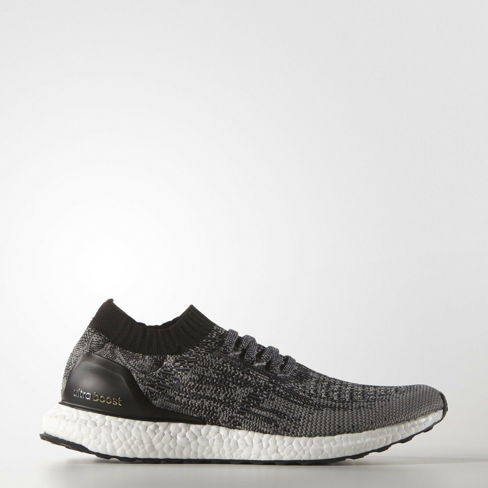 adidas Ultra Boost Uncaged Black Running Shoes Grey Trainers BB3900 UltraBOOST