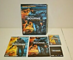 The Bourne Conspiracy Ps3 Gamestop Promo Box Bradygames Guide
