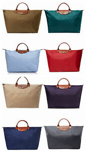 bf90cc871b90 Image is loading NEW-Longchamp-Le-Pliage-Type-L-Weekender-Travel-