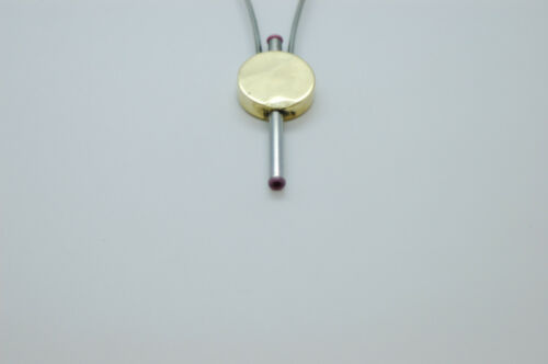 Céramique bobine titulaire disque tête avec tuyau en acier inoxydable évasée pour mouches