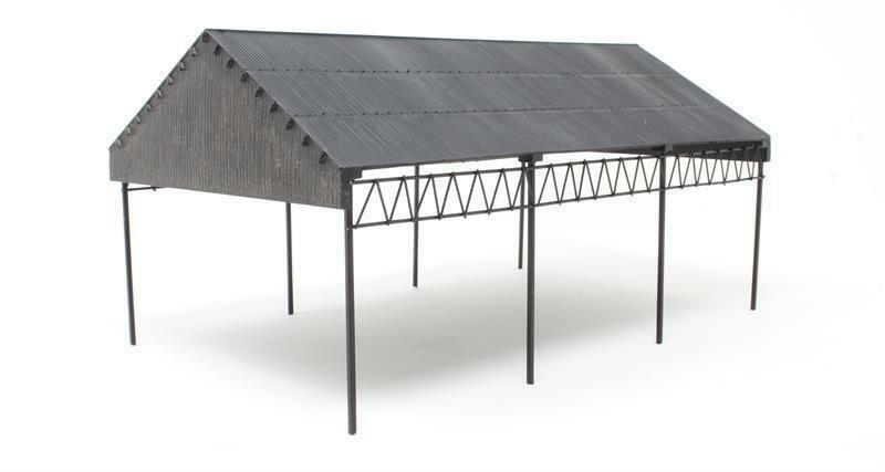 BACHMANN SCENECRAFT  44-0091 OO SCALE Goods Unloading Shed
