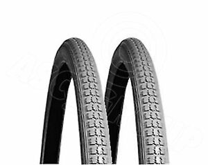 2-x-Grey-Wheel-Chair-Wheelchair-tyres-tires-24-x-1-3-8